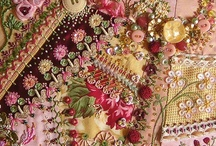 Quilting & Fabric III ~ crazy quilting / Quilting with some crazy quilting  / by Mary