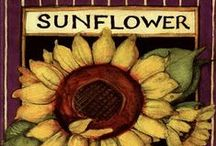 Sunflower Power / Keep on the sunny side of life.