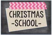 Christmas--School