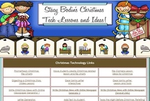 Christmas Lessons for the Classroom / A variety of classroom  ideas for Christmas. These include technology activities for computer centers, iPad apps, blacklines and many classroom center ideas too.
