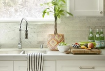 Interiors: Kitchens & Dining Rooms / Kitchen and dining room inspiration; I really have a thing for white kitchens apparently
