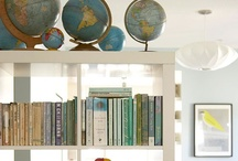 Interiors: Frames, Shelves, & Vignettes / Inspiration for frames, shelves, and other little home decor vignettes