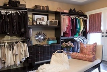 Fashion: Dressing Room / Ideas for decorating and organizing my dressing room. / by Amanda Keith