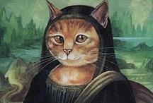 Art - Mona Lisa / by Mary