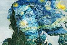 Art - Art Imitating Art / by Mary