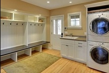 Home: Laundry and Mudroom / by Amanda Keith