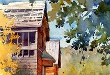 Art - Architecture / homes, buildings, cityscapes, interiors / by Mary