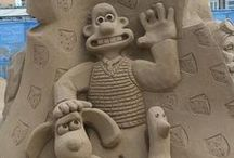 Amazing Sand Sculpture's / Amazing Sand Sculpture's around the world / by Tina Kilcup