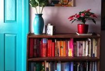 Home Loveliness. Shelves. / Peace- that was the other name for home. ~Kathleen Norris