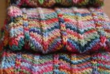 Knit and Crochet / Knitting is very conducive to thought. It is nice to knit a while, put down the needles, write a while, then take up the sock again. ~ Dorothy Day