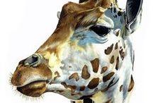 Art - Giraffe Art
