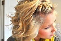 hair:) / by Anna Kelsoe