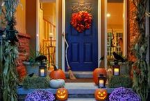 Halloween Chic / There's nothing worse than tacky Halloween decorations.  Here, you will only find classy décor, costumes, and lighting ideas for my favorite night of the year.