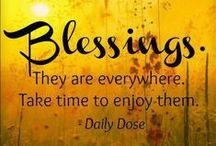 BLESSINGS / I am BLESSED by God in so many ways! Thank you God! He is AWESOME!  / by Ms. Terrea Nicole