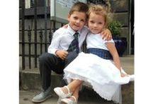 Tartan Wedding / You don't need to be Scottish to have a tartan themed wedding.  Tartan in any colour is so elegant! #wedding #tartanmoodboard