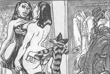 Cruz / as belas, sensuais e ousadas ilustrações do Cruz