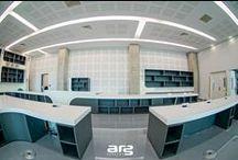 Bureaux / Bureaux en matérieau Corian®