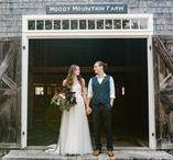 2017 Inspiration - Charm on the Farm / The Team:  Lindsay Hackney, Photographer. Lindsey M. Events, Planner. Melissa Callahan, Model. Ben Galucki, Model. BHLDN, Dress. Emily Herzig Floral Studio, Flowers.
