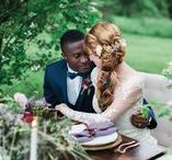 2017 Inspiration - Poetry In Motion / The Team: Amanda Fogerty, Photographer. Pinch Me Planning, Planner. Lily Sands, Model. Aris Totehekima, Model. Blush Bridal, Dress. Flora Fauna, Flowers.