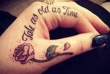 Tattoos. / by Nicole Lawler
