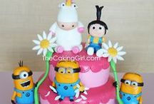 CAKES by TheCakingGirl / All the custom cakes I've made! Fondant cakes, designer cakes, couture cakes, custom fondant cakes, wedding cakes, replica cakes, sculpted cakes...