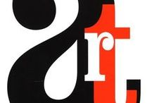 Typographic Design / The art of designing with type, fonts, letterforms and anything else alphabet-like.
