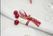 Red & White / I find red and white a homely match x