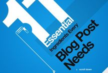 Blogging — Infographics / by Paul Biedermann