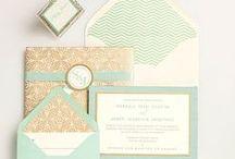 Invitations & paper prettiness