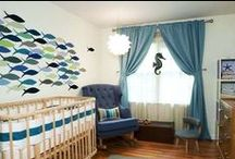 Nursery ideas / Cute ideas to plan your own nursery for your new baby without spending a lot of money. Cute nursery crafts and nursery artwork.