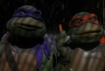 "Teenage Mutant Ninja Turtles <3 / ""They're heroes in a half-shell and they're green."""