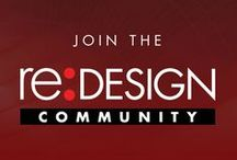 re:DESIGN / Strategic Design • Branding • Social Media • Communications | Helping businesses achieve special things through smart strategies and great design. Transforming ideas into sharp award-winning solutions that reach, engage, and inspire people to action. http://www.redesign2.com/