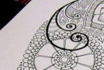 Lettering, Zengtengle, Tekenen / Mooie fantasie tekeningen