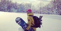 Snowboarding - Girls who ride - schneeverliebt.de / A collection of snowboarding girls and women.