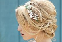 Wedding Hairstyles / All the best fashions for both bridesmaids and brides