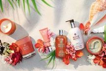 Heavenly Gingerlily / Molton Brown introduces The Heavenly Gingerlily Collection, featuring our NEW Heavenly Gingerlily Caressing Body Polisher, inspired by the idyllic black sand beaches of Tahiti. Follow the campaign with #HeavenlyGingerlily on Instagram, Twitter, and Pinterest.