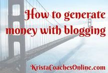 How to Generate Money with Blogging / How to Generate Money with Blogging. Tips and tricks for bloggers to get more traffic, more views and more sales on their blog. Click on this link to learn more: http://FitMama.elitemarketingpro.com/lm/perfect-blog-post.php?subid=Pinterest