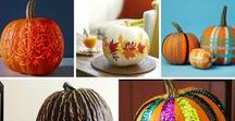 Fall Crafts / DIY, crafts and tons more Fall craft ideas. Halloween crafts, Thanksgiving crafts and more.