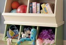 Organizing My Kid's Stuff / by Beth Shupp-George