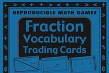 TPT Math Vocabulary Games and Activities / Great Math Games for you!  See them all at http://www.teacherspayteachers.com/Store/Fun-To-Teach