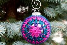 Crochet/Knitting for Christmas / Crochet and knitting patterns, projects, and printables with a Christmas theme. / by Underground Crafter