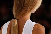 Polished Ponytails / Easy, yet chic: the perfect polished ponytail! *The use of any celebrity images does not imply an endorsement of any kind for the eSalon brand or eSalon products, nor eSalon's affiliation with the individuals pictured* / by eSalon
