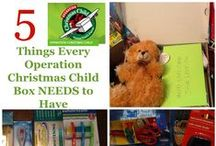 Operation Christmas Child / #OCCgiving