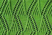 Knitting Stitches / Knitting stitch patterns, photo tutorials, and video tutorials. / by Underground Crafter
