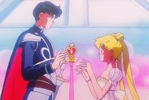 Sailor Moon and the Sailor Scouts / by Ashley Compher