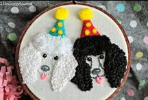 Stitching, Embroidery & Cross Stitch Ideas / Massive collection of inspirations, ideas and free patterns for stitching and embroidery. Here I collect the most outragouse most beautiful most creative finds on the web concerning needle art. Get inspired and enjoy!