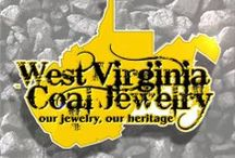 West Virginia Coal Jewelry / Hand made West Virginia Coal Jewelry made in Beckley, WV / by Carol Dameron