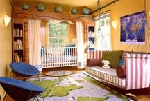 Kids Room - Girlz Rule! / Here some cute ideas that blend well together to get a funky little girls room!