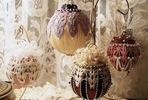 Victorian Christmas Ornaments