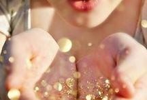 Sparkles and Gold / You can't go wrong with sparkles and gold / by Swoozie's
